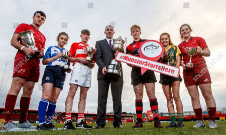 Evan Murphy, Munster U18 Clubs, Ciara Sheehan, Tralee RFC U15 Girls, Matthew Sheehan, Skibbereen RFC U16 Cup, John McAllen, Bank of Ireland, Ross Flaherty, Ennis RFC U18 Cup, Muirne Wall, Listowel RFC U18 Girls and Enya Breen, Munster U18 Girls