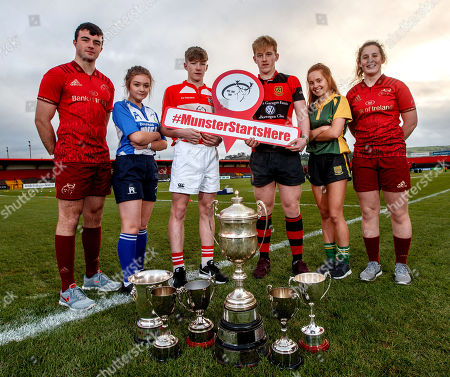 Evan Murphy, Munster U18 Clubs, Ciara Sheehan, Tralee RFC U15 Girls, Matthew Sheehan, Skibbereen RFC U16 Cup, Ross Flaherty, Ennis RFC U18 Cup, Muirne Wall, Listowel RFC U18 Girls and Enya Breen, Munster U18 Girls