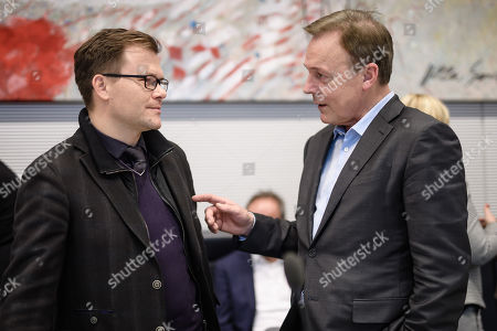 Thomas Oppermann and Carsten Schneider