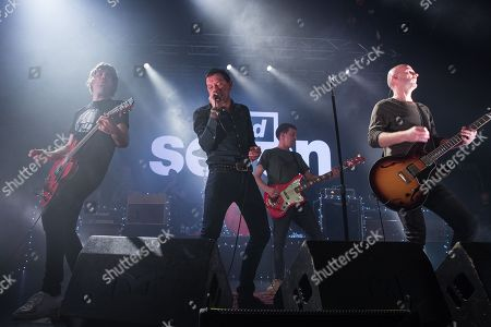 Paul Banks, Rock Witter, Tom Gladwin, and Joe Johnson of Shed Seven