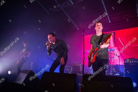Paul Banks, RIck Witter, and Tom Gladwin of Shed Seven