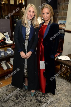 Stock Photo of Hayley Bloomingdale and Martha Ward