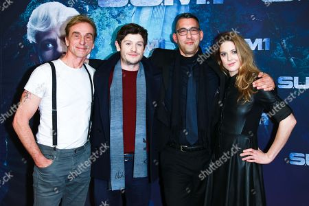 Andre Hennicke, Ivan Rheon, Christian Pasquariello (Regie) and Zoe Grisedale