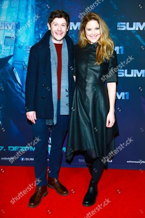 Ivan Rheon mit partner Zoe Grisedale