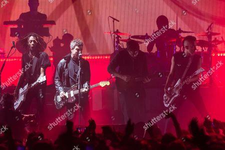 Gorillaz - special guests Noel Gallagher and Graham Coxon
