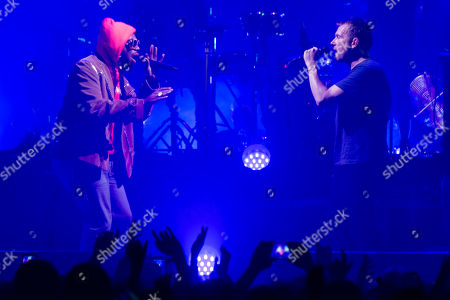 Gorillaz - Damon Albarn, and special guest DRAM (aka D.R.A.M.  Shelley Marshaun Massenburg-Smith)