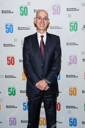 Adam Silver attends The Bloomberg 50, a celebration of icons and innovators who changed global business in 2017, at Gotham Hall, in New York