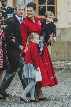 Editorial photo of Prince Gabriel's Christening, Drottningholm Palace Chapel, Stockholm, Sweden - 01 Dec 2017