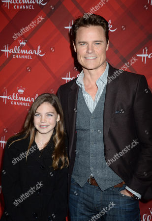 Dylan Neal and daughter