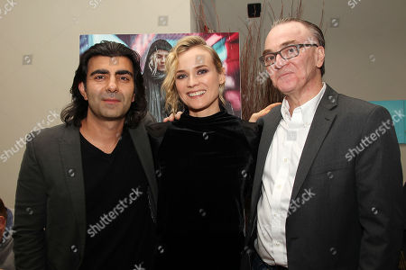 Fatih Akin, Diane Kruger and Eamonn Bowles, President of Magnolia Pictures