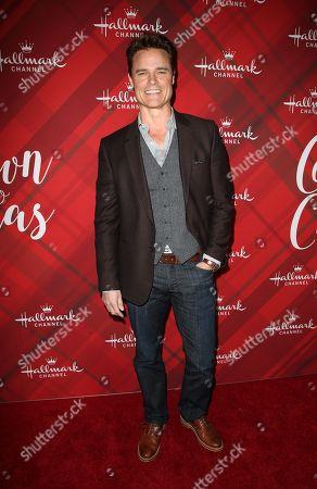 Editorial photo of 'Christmas at Holly Lodge' film screening, Los Angeles, USA - 04 Dec 2017