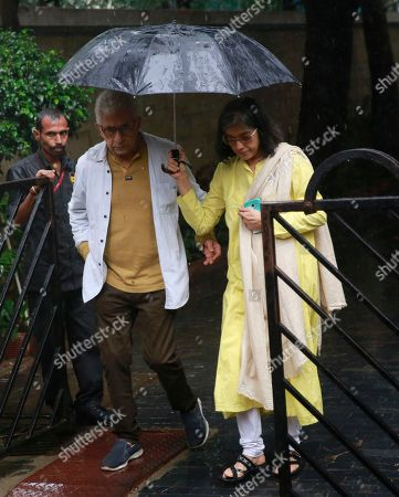 Naseeruddin Shah, Ratna Pathak. Bollywood actor Naseeruddin Shah, left, along with his wife Ratna Pathak arrives to attend the funeral of the Bollywood actor Shashi Kapoor in Mumbai, India, . Kapoor, a leading Bollywood actor and producer from the 1970s and '80s, died Monday after a long illness. He was 79