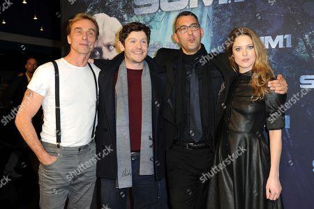 Andre Hennicke, Iwan Rheon, Christian Pasquariello and Zoe Grisedale