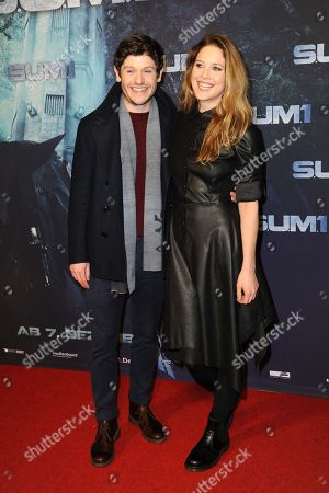 Iwan Rheon and Zoe Grisedale