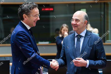 Pierre Moscovici, Jeroen Dijsselbloem