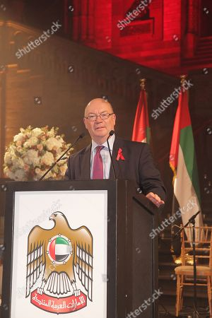 Editorial photo of United Arab Emirates National Day Reception, Natural History Museum, London, UK - 29 Nov 2017