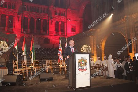 Editorial picture of United Arab Emirates National Day Reception, Natural History Museum, London, UK - 29 Nov 2017