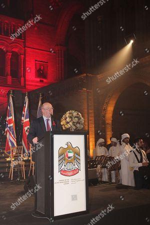 Stock Image of Rt Hon Alistair Burt MP