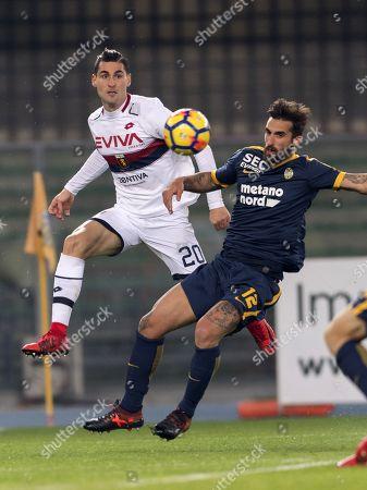 Aleandro Rosi (Genoa), Antonio Caracciolo (Hellas)