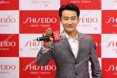 Editorial picture of Shiseido photocall, Shenyang, Liaoning Province, China - 28 Nov 2017