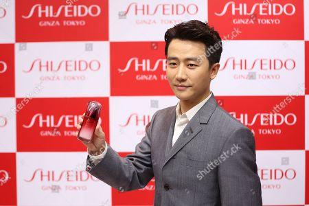 Editorial image of Shiseido photocall, Shenyang, Liaoning Province, China - 28 Nov 2017