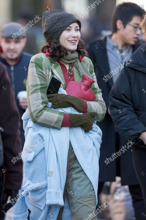 Editorial picture of 'Red Joan' on set filming, Cambridge, UK - 04 Dec 2017