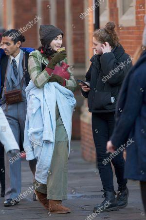 Editorial photo of 'Red Joan' on set filming, Cambridge, UK - 04 Dec 2017