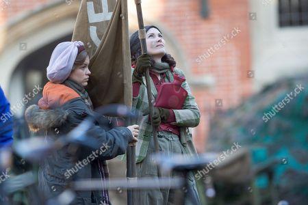 Editorial image of 'Red Joan' on set filming, Cambridge, UK - 04 Dec 2017
