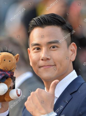 Eddie Peng, Chinese actor and Longines Ambassador.