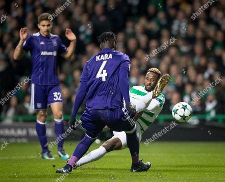 Editorial photo of Celtic v RSC Anderlecht, UEFA Champions League Groupstage, Group B, Celtic Park, Glasgow, UK - 5 December 2017