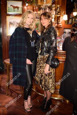 Alexandra Richards and Countess Debonnaire von Bismarck