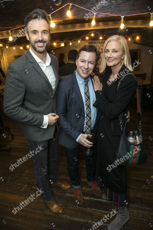 Michael Xavier, Gordon Greenberg (Director) and Joely Richardson