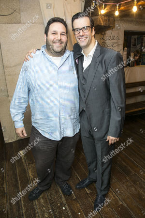 David Babani (Artistic Director) and Marcus Brigstocke (PT Barnum)