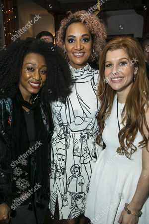 Stock Picture of Beverley Knight, Tupele Dorgu (Joice Heth) and Cassidy Janson