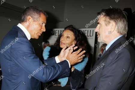 Richard Plepler, Diane von Furstenberg and Tom Freston