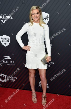 Soccer player Kealia Ohai attends the Sports Illustrated 2017 Sportsperson of the Year Awards at the Barclays Center, in New York