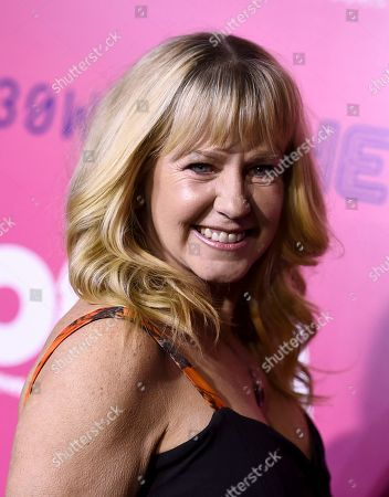 """Tonya Harding arrives at the Los Angeles premiere of """"I, Tonya"""" at the Egyptian Theatre on"""