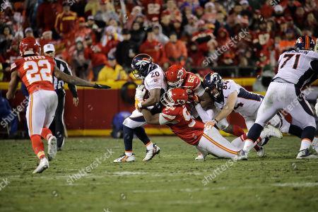 Editorial picture of Broncos Chiefs Football, Kansas City, USA - 25 Dec 2016