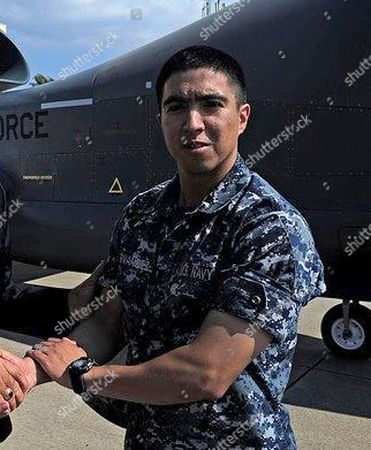 This undated photo released by the U.S. Navy, shows Gunner's Mate 2nd Class Noe Hernandez, 26, from Weslaco, Texas. Hernandez is one of the seven sailors who died in a collision between the USS Fitzgerald and a container ship off Japan on Saturday, June 17, 2017
