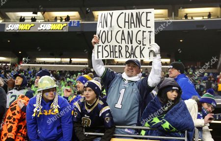 Editorial image of Rams Seahawks Football, Seattle, USA - 15 Dec 2016