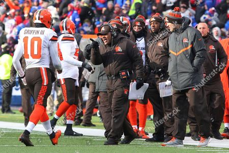 Editorial picture of Browns Bills Football, Orchard Park, USA - 18 Dec 2016