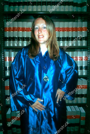 In this circa 2007 photo from the Michigan Department of Corrections, Jennifer Pruitt celebrates her graduation from a career tech class at the Robert Scott Correctional Facility in Plymouth, Mich