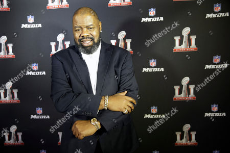Biz Markie poses for a photo during the NFL Media Super Bowl party at Chapman & Kirby