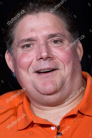Marc Buoniconti talks during an interview, in New York