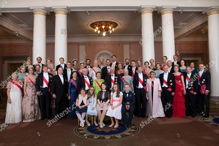 Editorial image of Royals, Oslo, Norway - 9 May 2017