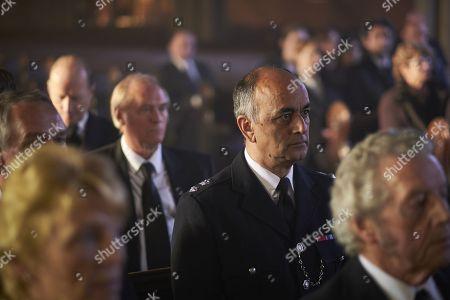 (Ep 2) - Art Malik as Alan Taheeri.