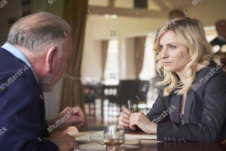 (Ep 1) - Kenneth Cranham as Charlie Haverstock and Faye Marsay as Katherine Stevens.