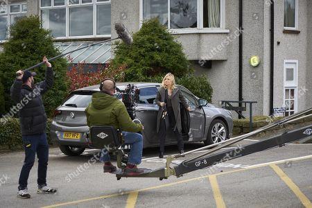 (Ep 1) - Behind the Scenes: Faye Marsay as Katherine Stevens.