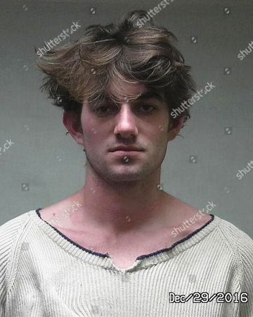 In this photo provided by the Aspen, Colo., Police Department, 22-year-old John Conor Kennedy is shown following his arrest for disorderly conduct after he was involved in a bar fight in the tony resort town of Aspen, Colo., . Kennedy is the oldest son of Robert Kennedy Jr. and the grandson of Robert Kennedy. Kennedy's court appearance on the charge is set for Feb. 22