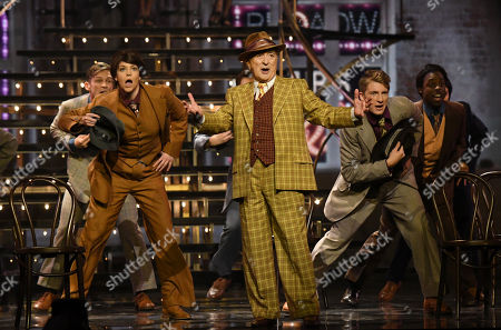 """Sir Tony Robinson Performs """"Sit Down, You'Re Rockin' the Boat """" From Guys & Dolls Musical."""